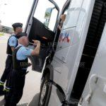 Once camioneros denunciados por incumplir el descanso semanal