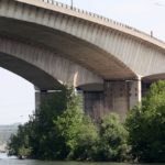 El desprendimiento de un pilar en el viaducto de Gennevilliers obliga a desviar el tráfico