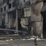 El chófer dice que quemó la empresa por que no le pagaban