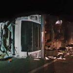 La muerte del joven camionero fallecido en Pina ha causado conmoción