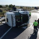 La peligrosa N-II se cobra otra vida: un camionero de 56 años