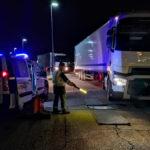 La Guardia Civil detecta 41 camiones con exceso de peso