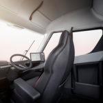 Un primer vistazo al interior del camión eléctrico Tesla Semi