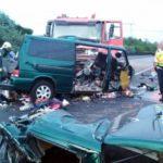 Un conductor mata a 9 personas mientras retransmite un vídeo en vivo en Facebook