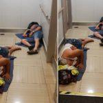 Vergonzoso!! Camioneros forzados a dormir en el suelo en el ferry a Baleares