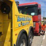 Abandona en plena vía en Valladolid el remolque de un camión sin ITV ni seguro y desaparece
