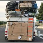 Registran 4 furgonetas con exceso, una de ellas de 4 tn de carga camino del Magreb