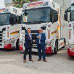Fuentes compra 30 camiones del modelo estrella  Scania S500, la cabina mas grande de la marca