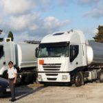 Roban una cisterna de gasoleo a un camionero rumano, pero la declaración no convence a la policía