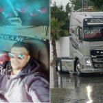 En mi vida adoro tres cosas: mi esposa, mi hijo y mi camión