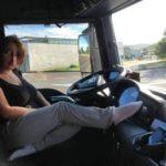Carta de la mujer de un camionero * Por Magda Sansberro