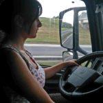 """Reconocimiento personal a los camioneros: """"Bastante trabajáis"""""""
