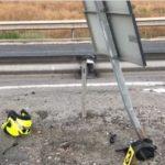 La maldita señal de tráfico, que mató a un motorista y dejó grave a otro