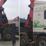 Ofrece 15.000€ a quien le ayude a recuperar un camión que le robaron en la Feria de Málaga