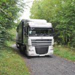 Los camiones se pierden en la A304 francesa, siguiendo el GPS