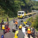 Detienen a un camionero que mató a una monja al desprenderse la carga de bloques de contrapeso de grúas