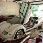 Se encuentra olvidados un Lamborghini Countach y un Ferrari 308 en el garaje de su abuela