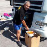 Soledad a 40º, el domingo de agosto de un camionero