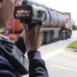 210 vehículos denunciados en tres horas durante un control en una zona de curvas limitada a 50 km/h