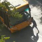 Brutal paliza al chófer de un autobús de Valencia, tras una discusión de tráfico
