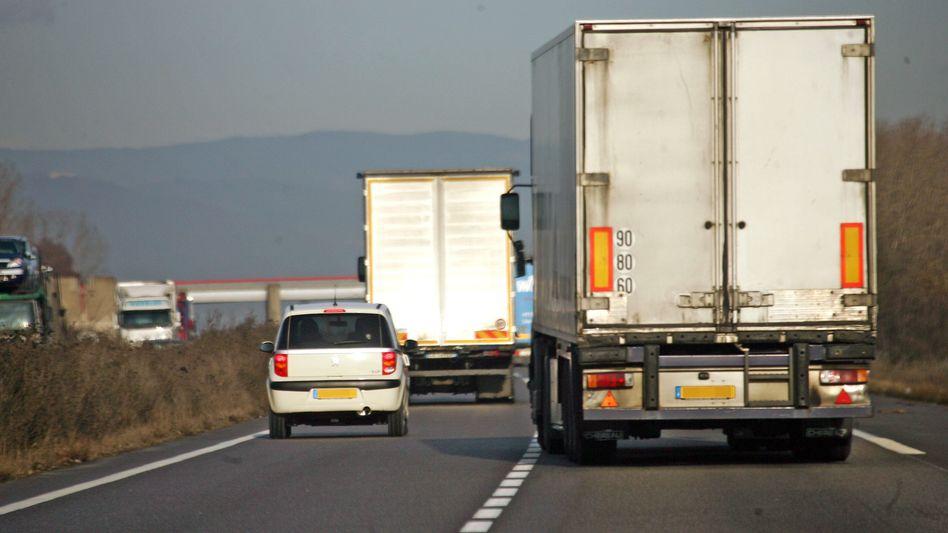 Un camionero español detenido después de un altercado violento tras quedarse sin frenos