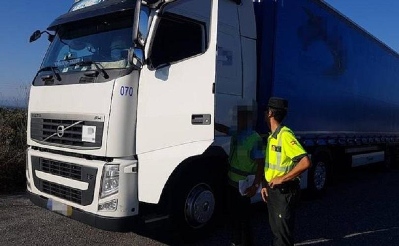 Detenido por conducir un camión superando 9 veces la tasa de alcoholemia por la A-66