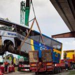 """El camionero que halló a un amigo al asistir a las víctimas del Alsa: """"Parecía un atentado"""""""