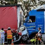 Acusan de homicidio a un camionero que mató a un hombre mientras hablaba por teléfono al volante