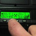 Detenido un camionero polaco con un sistema de fraude al tacógrafo sin precedentes