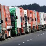 Un retrete para camioneros bloqueados por el Brexit