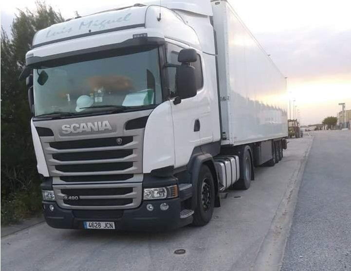 ¡¡Ayuda!! Camión robado en Zaragoza. Matrícula 4628 JCN – COMPARTE