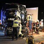 Muere un camionero de solo 25 años tras colisionar 4 camiones en la A3 Alemania