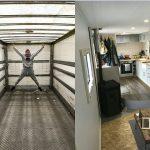 Compraron un viejo camión, lo convirtieron en la autocaravana de sus sueños y ahora se dedica a recorrer Europa