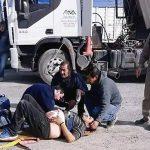 Apuñalaron a un camionero que se coló en la fila de descarga