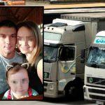 El camionero asesinado  murió en brazos de compañeros, murmurando los nombres de sus hijas.