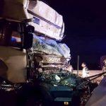 Un camionero muere atrapado en la cabina a pocos metros del peaje en la A1 en Modena