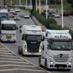 Caos en Barcelona. Colas de 17 kilómetros por una marcha lenta de camiones