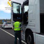 Cambio de conductor en marcha para burlar a la Guardia Civil