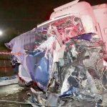 Una conductora de camión acusada de diez homicidios por negligencia, aunque no iba bebida, ni drogada