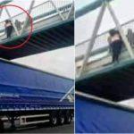 La linda historia de la mujer suicida y el heroico camionero
