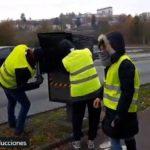 Chalecos amarillos dejan 600 radares fuera de servicio desde el comienzo del movimiento