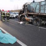 Fallecen dos camioneros del país, tras un choque frontal entre camiones en Soria