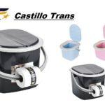 Castillo Trans presenta los nuevos WC portátiles para camiones, que serán instalados en toda su flota.
