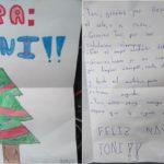 La emotiva carta de navidad de una niña al conductor de autobús escolar