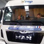 El presidente de Portugal viaja en camión para conocer de cerca los problemas de los camioneros