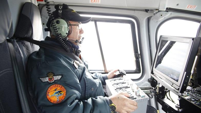 Así multa el nuevo helicóptero-radar más eficaz que el Pegasus