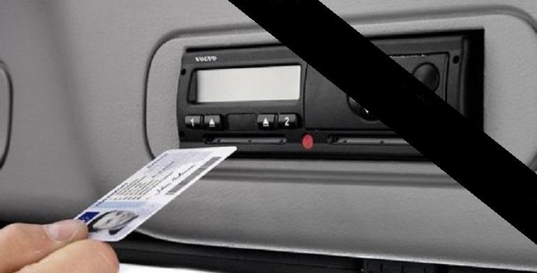 Cronotachigrafo digitale inserimento Scheda Volvo 5