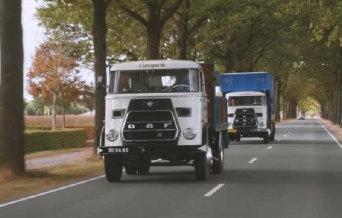 El camión DAF más antiguo aún en servicio.