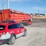 Denunciado un camionero con 2.200€ por alcohol, drogas e incumplir una restricción