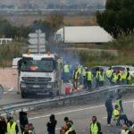 """Fallece un manifestante de los """"chalecos amarillos"""" arrollado por un camión"""